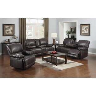 Flair Gordon Reclining Configurable Living Room Set
