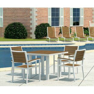 POLYWOOD® Euro 5 Piece Dining Set