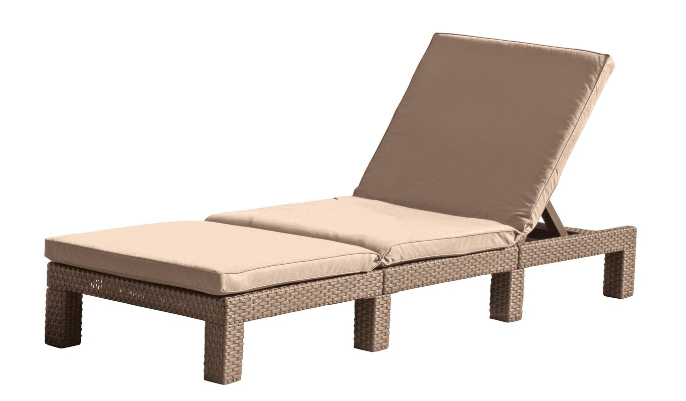 brown lounger chaise coaster microfiber raw lounge