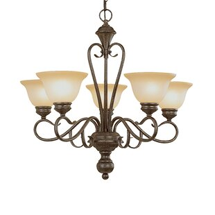 Birchview 5-Light Semi Flush Mount by Fleur De Lis Living