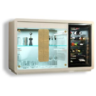 Everly Quinn Laivai Bar Cabinet