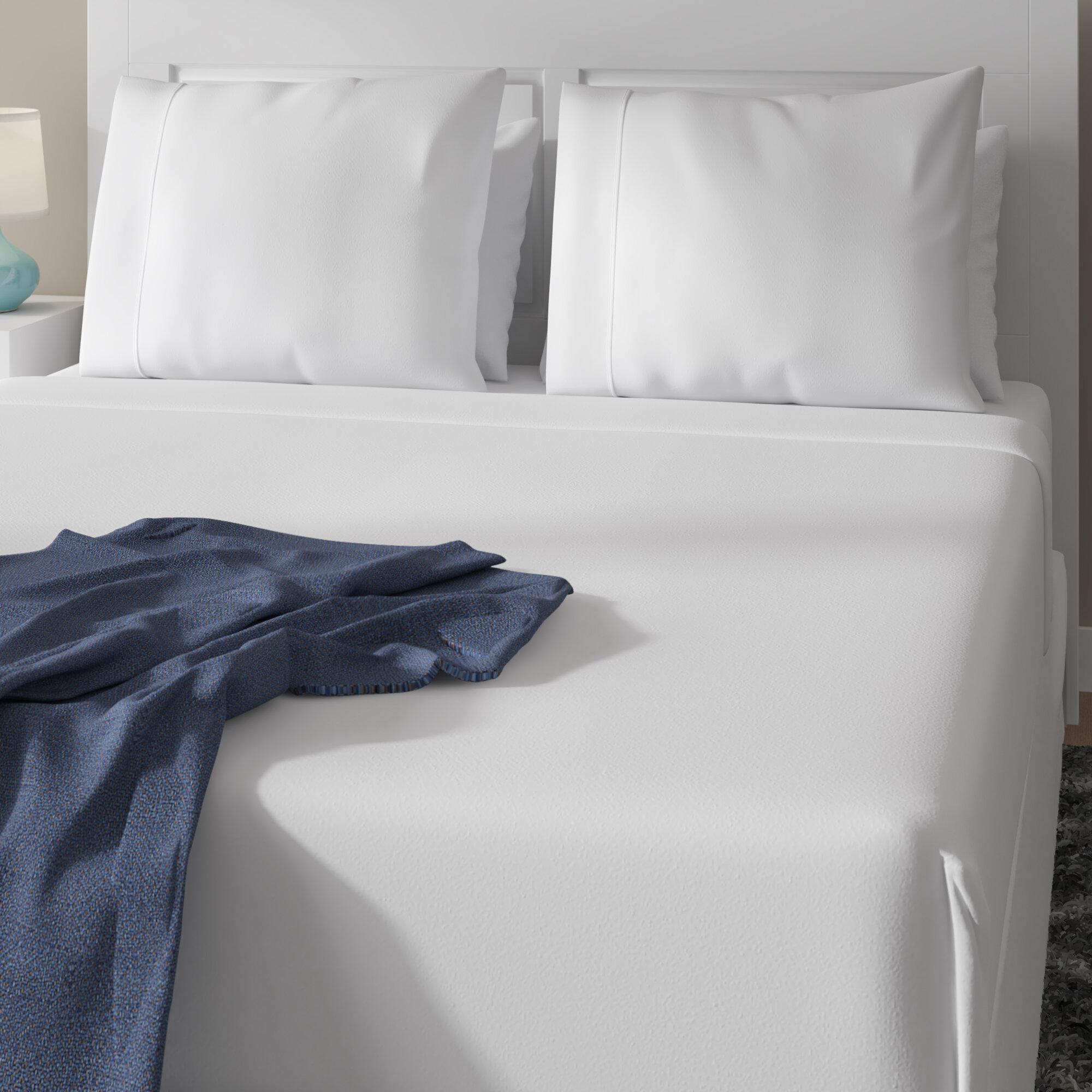 Alwyn Home Brushed Bed Sheet Set Reviews Wayfair
