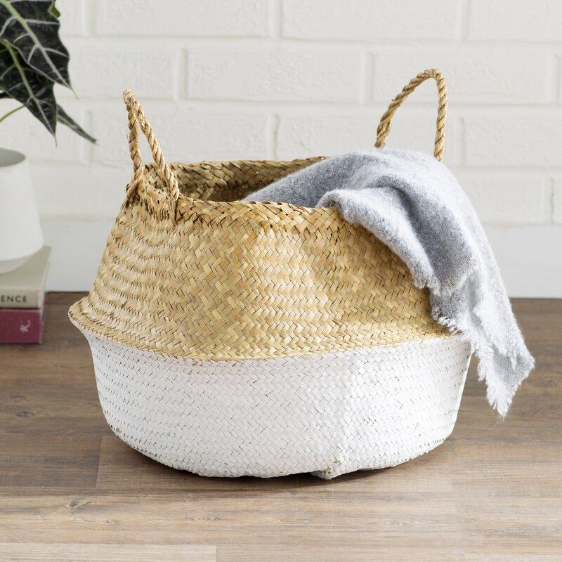 Joss & Main Essentials Basket with Handles