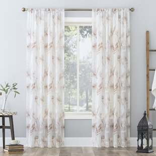 Floral Sheer Curtains Drapes You Ll Love In 2021 Wayfair