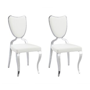 Lacey Upholstered Dining Chair (Set of 2) Chintaly Imports