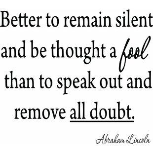 Quote Silent Wayfair