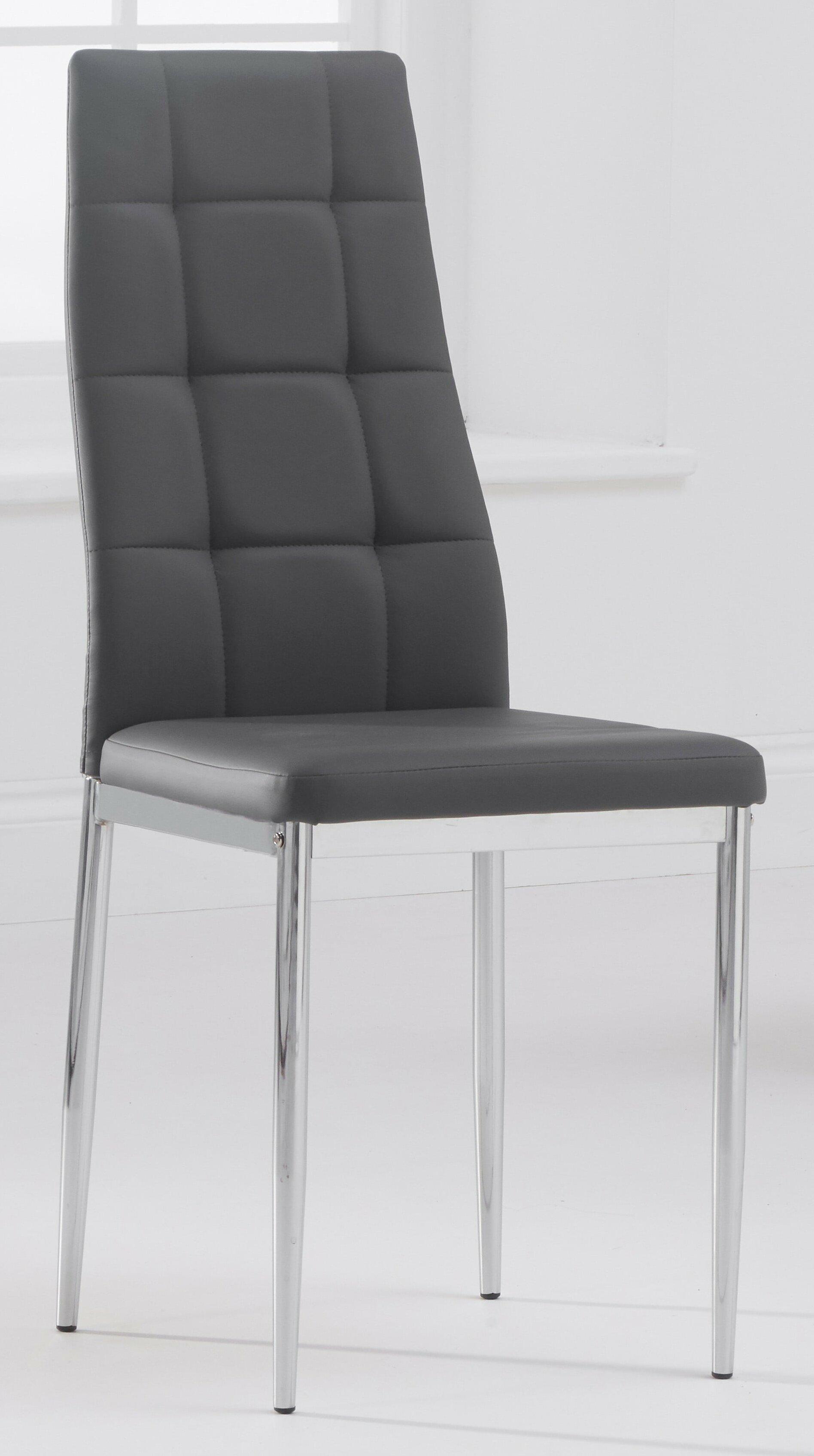 Metro Lane Astorga Upholstered Dining Chair Wayfair Co Uk