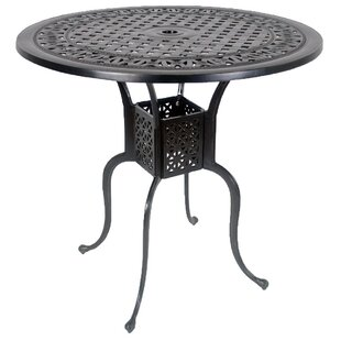 Vela Aluminum Bar Table