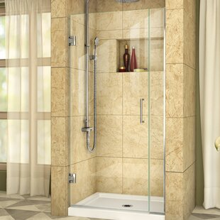 Unidoor Plus 36 x 72 Hinged Frameless Shower Door with Clearmax? Technology by DreamLine