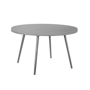 Horton Metal Dining Table by Bungalow Rose