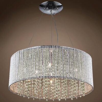 Get The Everly Quinn Thaxted 5 Light Unique Statement Drum Chandelier X112223472 From Wayfair Now Accuweather Shop