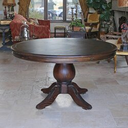 One Allium Way Lacour Reclaimed Wood Round Dining Table Reviews