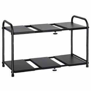 Rebrilliant Ewers Under Sink Adjustable Helper Shelf