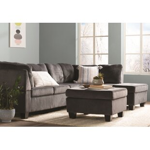 Hardin Right Hand Facing Sectional with Ottoman
