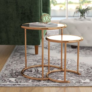 Kalb 2 Piece Nesting Table Willa Arlo Interiors