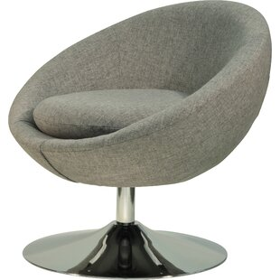 Overman Swivel Barrel Chair