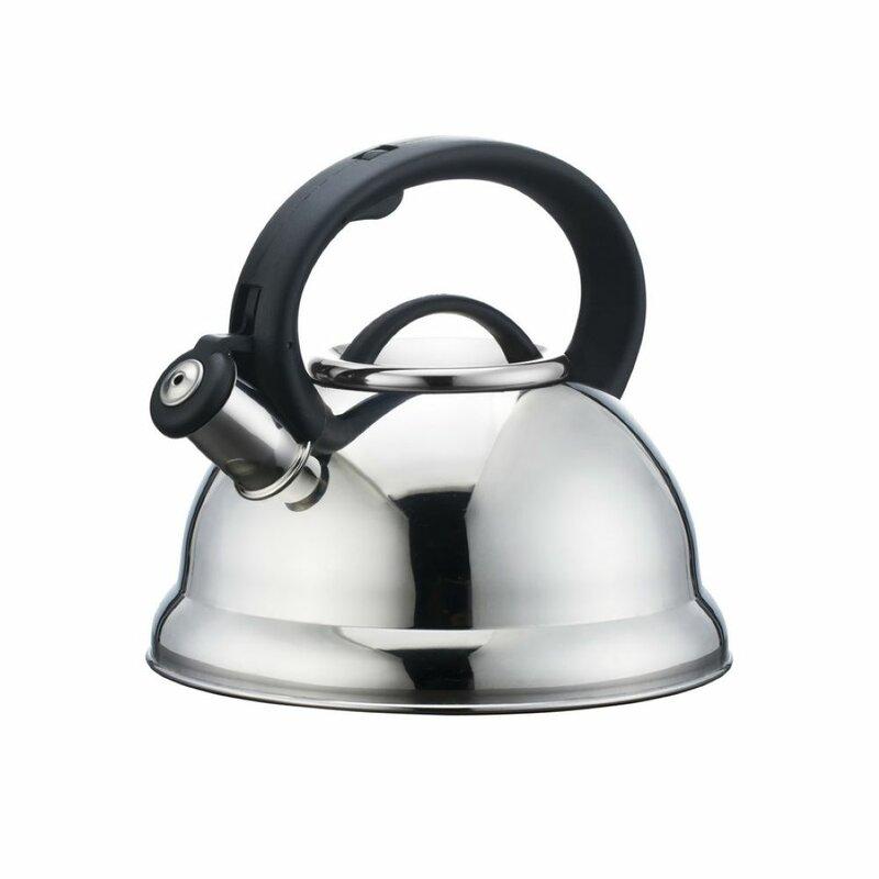 Alpine Cuisine Alpine Cuisine 2.95 qt. Stainless Steel Stovetop Tea Kettle
