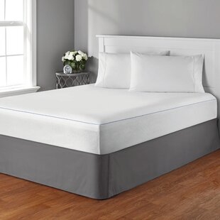 Hutchinson Hypoallergenic Waterproof Mattress Cover by Rebrilliant Fresh