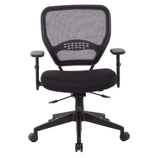 Office Star Products Dark Air Mid-Back Mesh Desk Chair
