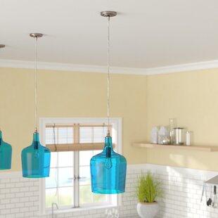 Beachcrest Home Woodcreek 1-Light Novelty Pendant