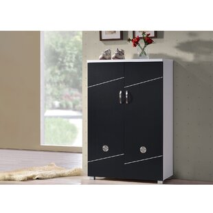 Inexpensive Spicer 15-Pair Shoe Storage Cabinet ByEbern Designs