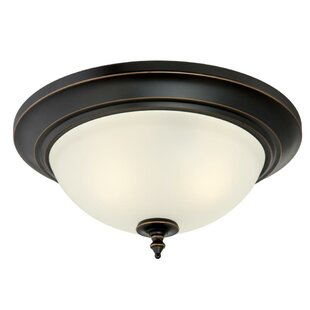 Compare & Buy Meza 2-Light Flush Mount By Charlton Home