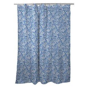 Poplar Sea Single Shower Curtain