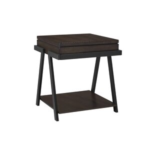 Pedroza End Table by Williston Forge