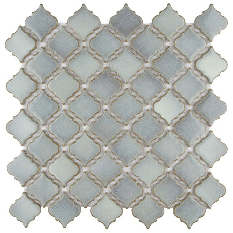 """Pharsalia 2"""" x 2.25"""" Porcelain Mosaic Tile"""