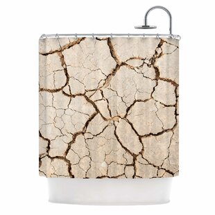 'Drought' Single Shower Curtain