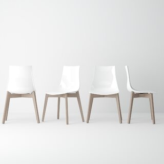 Alya Solid Wood Dining Chair (Set of 2) by Brayden Studio SKU:CA503337 Order