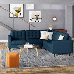 Ivy Bronx Gelb Empress Sectional