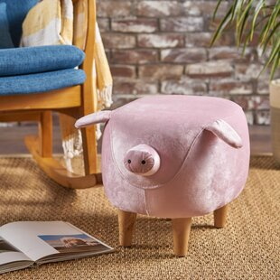 Esmond Pig Ottoman by Zoomie Kids