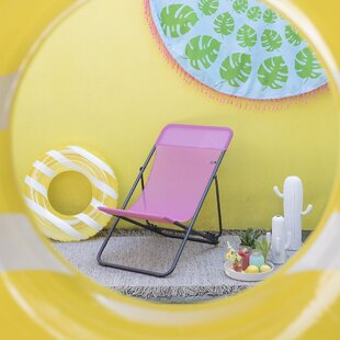 Reclining Folding Beach Chair Image