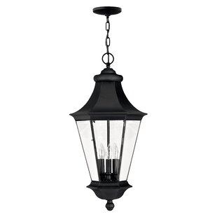 Hinkley Lighting Senator 3-Light Outdoor Hanging Lantern
