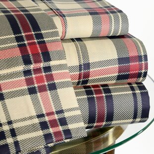 Reviews 200 Thread Count Plaid Sheet Set By Hotel New York