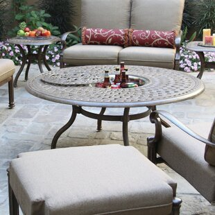 Fairmont Aluminum Propane Fire Pit Table
