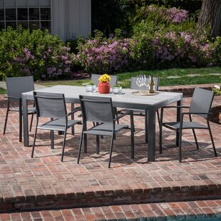 Latitude Run Baywood 7 Piece Dining Set