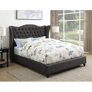 Greig Upholstered Panel Bed by Alcott Hill