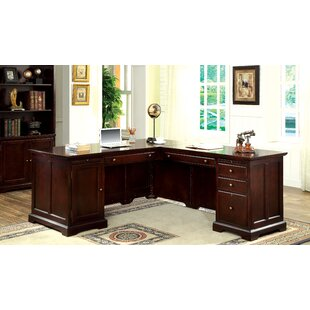 Online Reviews Kern L-Shape Executive Desk ByDarby Home Co