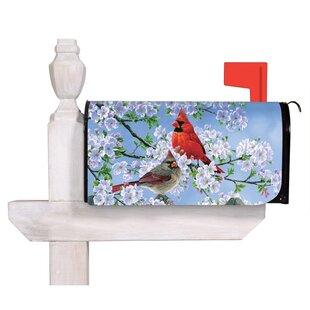 Glorious Morning Cardinals Mailbox Cover By Evergreen Flag & Garden