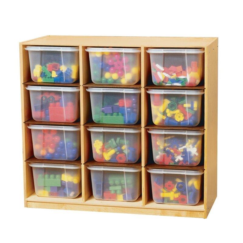 Childcraft 12 Compartment Cubby Wayfair