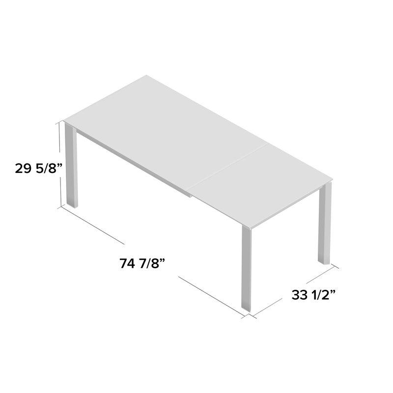Terrific Duca Extendable Dining Table Short Links Chair Design For Home Short Linksinfo