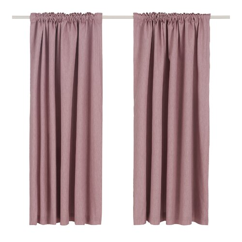 Coleraine Pencil Pleat Blackout Thermal Curtains Marlow