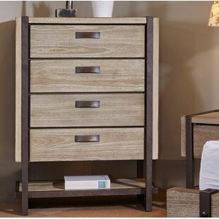 Dominey 4 Drawer Chest by Gracie Oaks