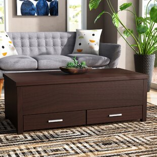 Tackett Coffee Table with Storage by Wrou..