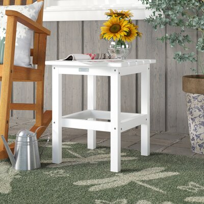 Parkside Plastic Side Table by August Grove Wonderful