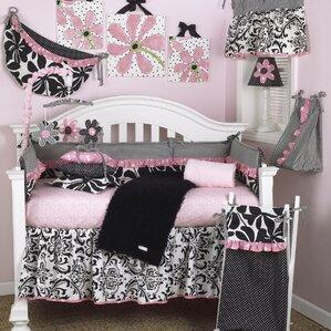 Girly Flat Crib Sheet