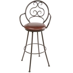 Chino 30 Swivel Bar Stool Fleur De Lis Living