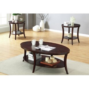 Gunnel 3 Piece Coffee Table Set